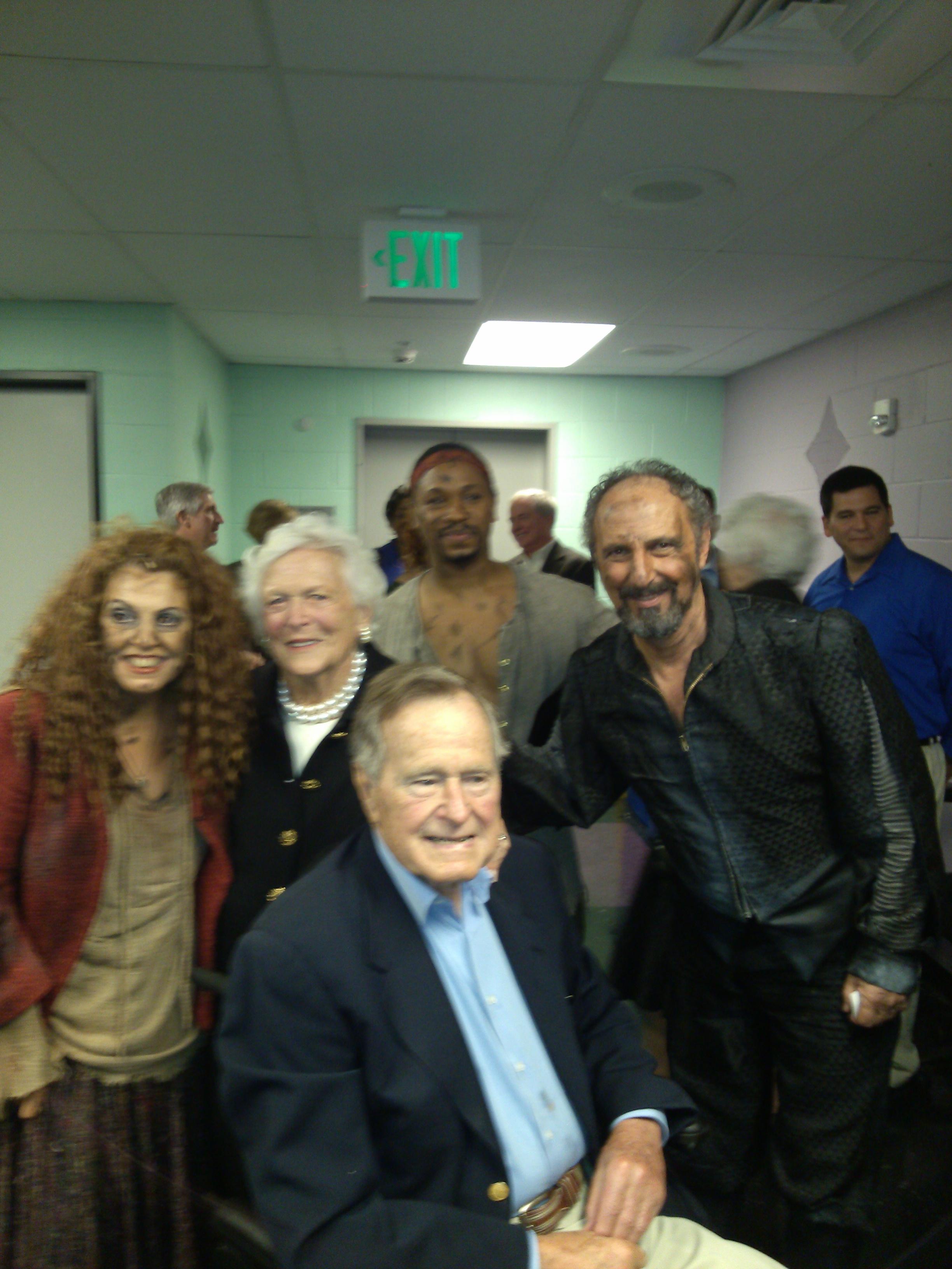 Bush's at La Mancha